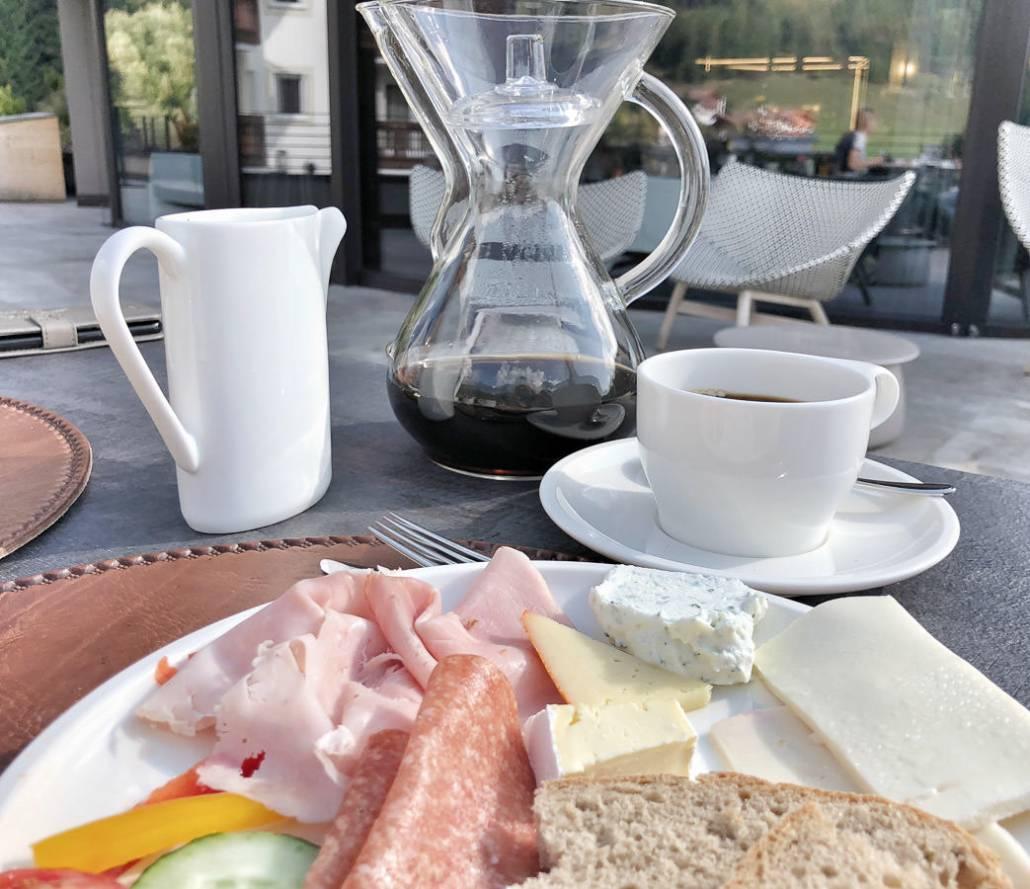 Kaffee zum Frühstück