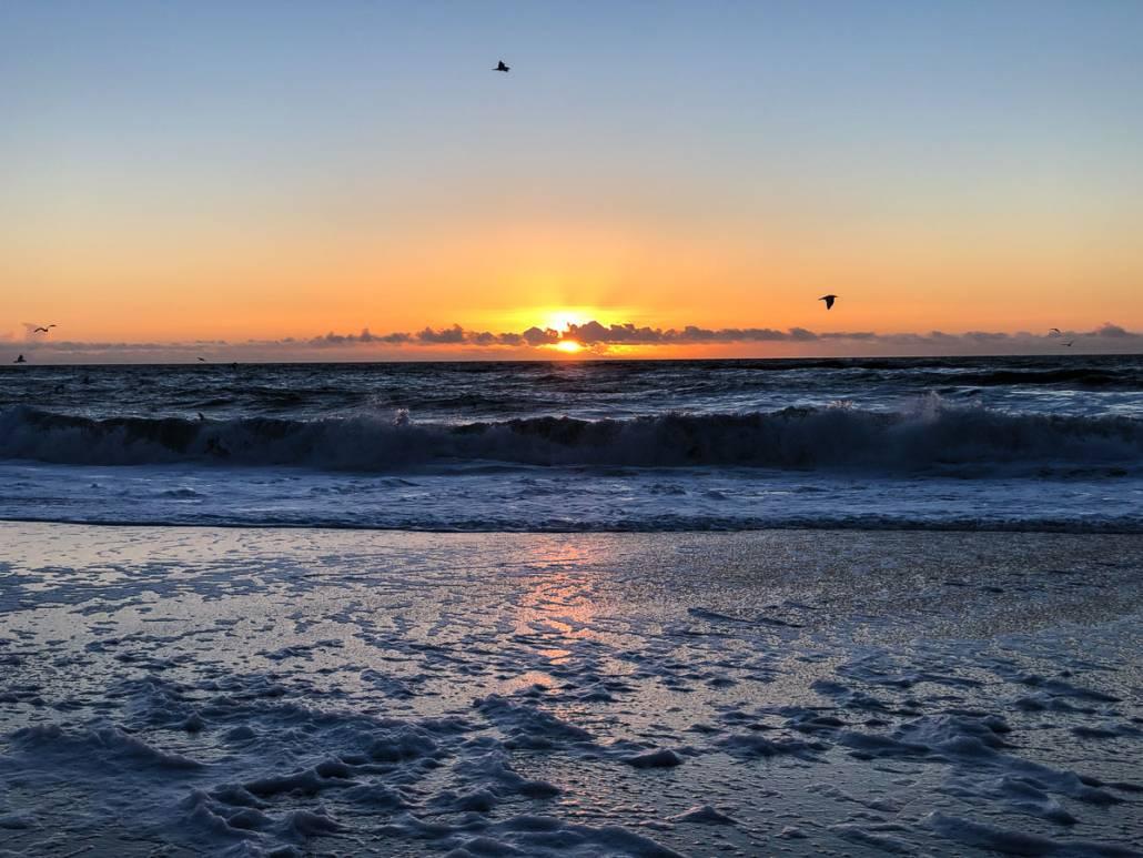 Sylt im Frühling mit Sonne, Strand, Meer und Sehenswürdigkeiten