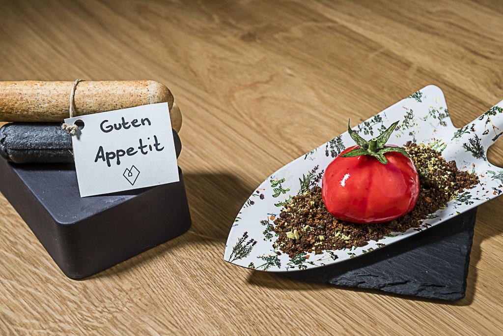 Beef Tatar mit Karfiol/Blumenkohl und Kürbis-Wasabi Mayonnaise - WellSpa-Portal